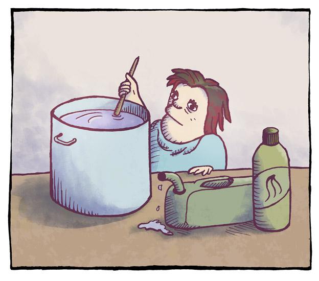 Leggevann og pølsevann 2