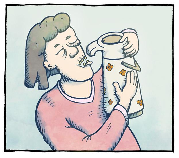 Frøktelig kaffitørst 1