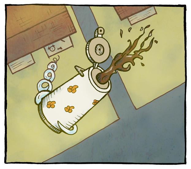 Frøktelig kaffitørst