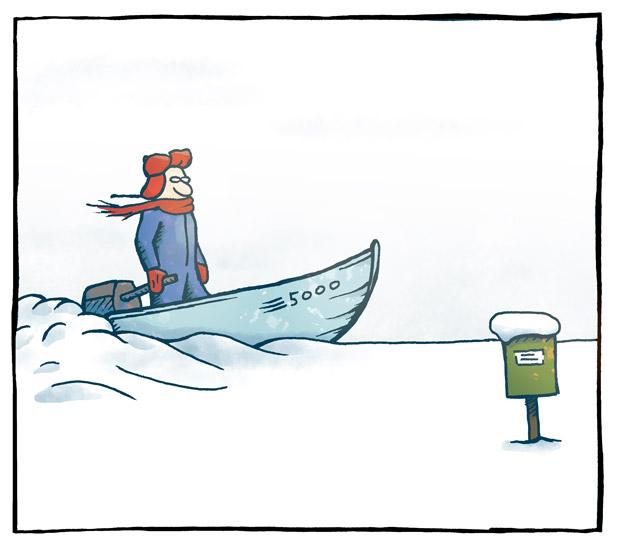 Plutselig snø 3