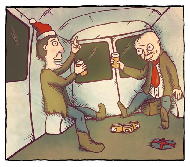 Julespesial 1/3: Jim og Alfred 1