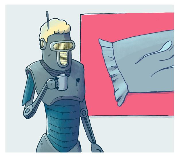 Robot bytter jobb 1