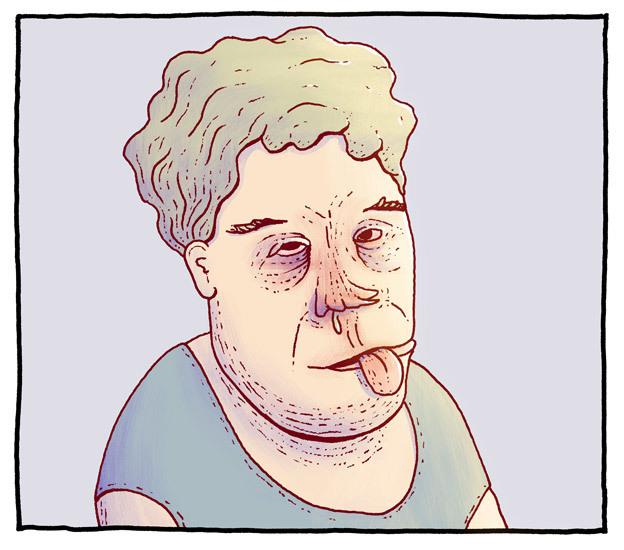 Sår nese