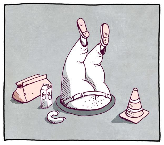 Håndverkerlunsj