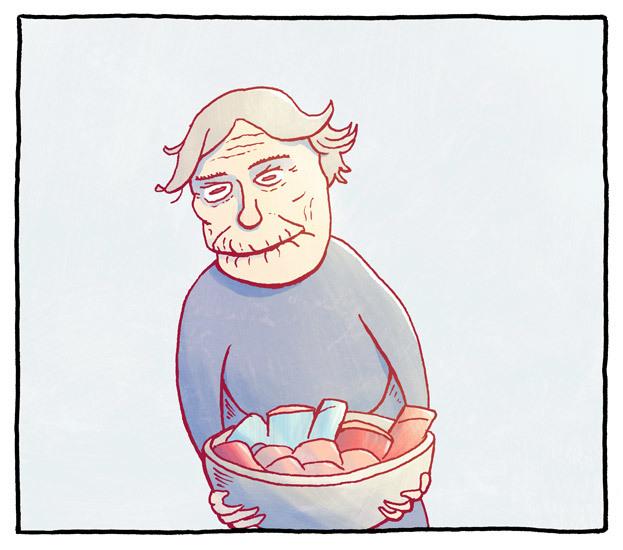 Bestemors vonde godteri