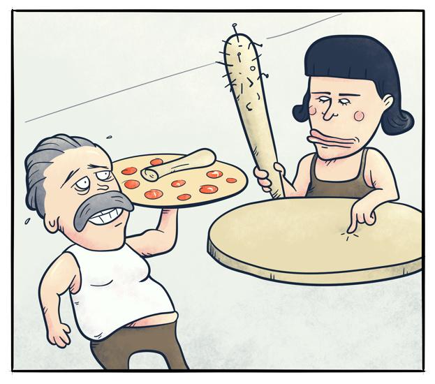 Pizzamogulens datter 3
