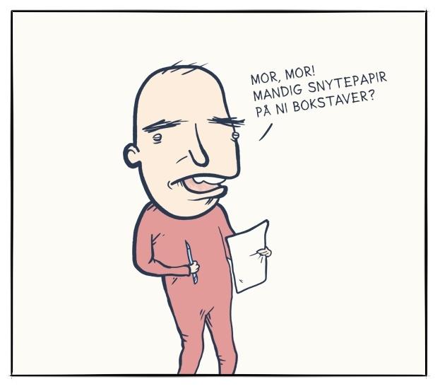 Mandig snytepapir 1
