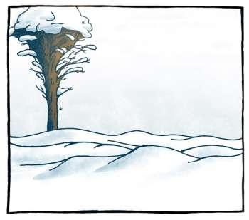 Plutselig snø
