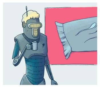 Robot bytter jobb