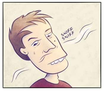 Tre uker med svidd lukt